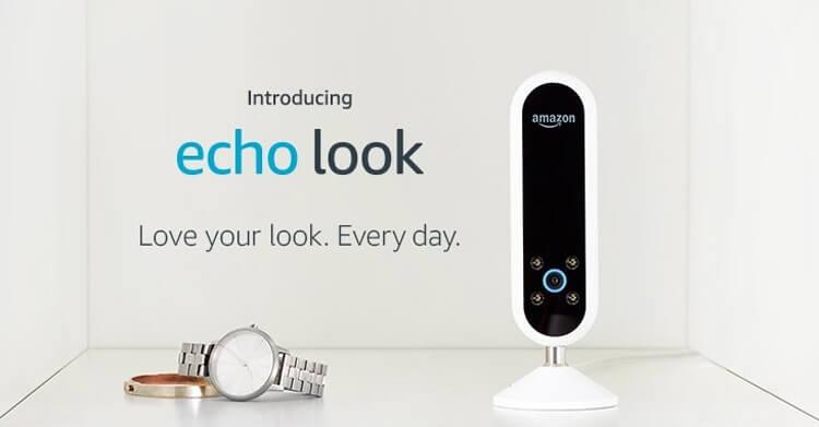 Смарт-камера Amazon Echo Look: голосовой помощник Alexa и персональный стилист